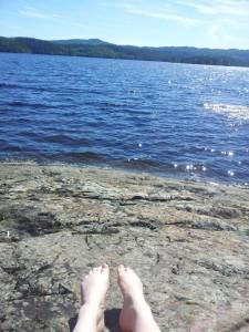Idyllisk ved Foldsjøen