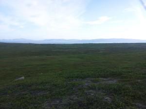 Fikk trent litt Vadsø og. Her er jeg på tur orientering rett ovenfor sentrum.